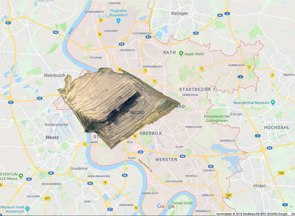 Düsseldorf Stadtteile Karte.Braunkohle Tagebau Hambach In Deiner Stadt Düsseldorf Braunkohle